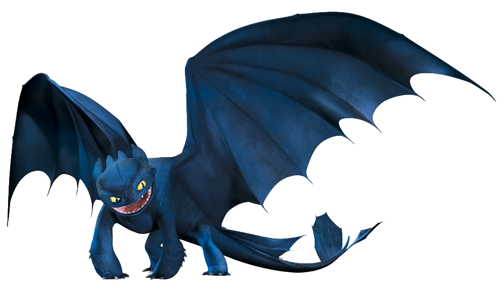 Image night fury how to train your dragon wiki - Furie nocturne dragon ...