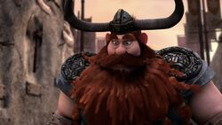 Stoick telling his son there is no pressure