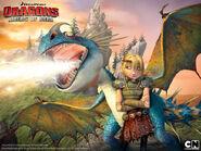 Dragons wallpaper astridstormfly 3 800x600