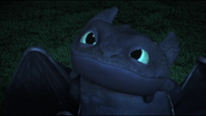 Toothless Smiling