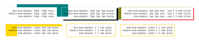 File:Box-shadow Examples.png