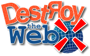 File:Destroy the Web Logo.png