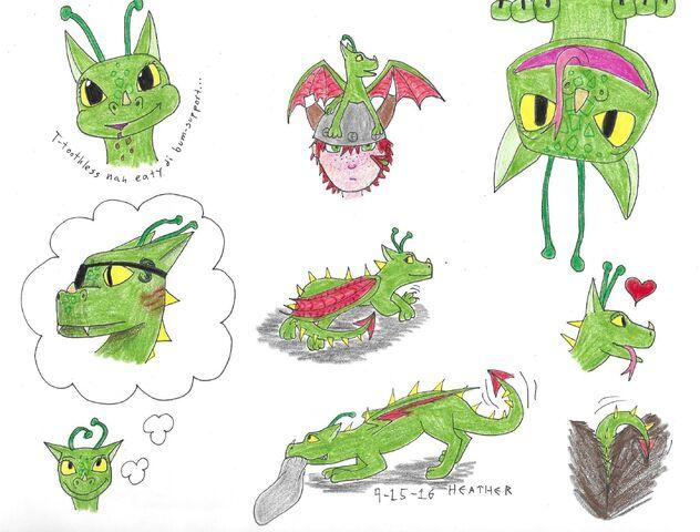 File:Toothless doodles.jpg