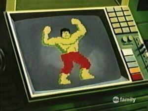 Pixel Hulk