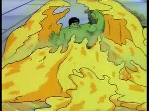 Hulk vs Yellow Mud