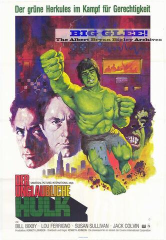 File:Incredible Hulk German movie poster 1977.jpg