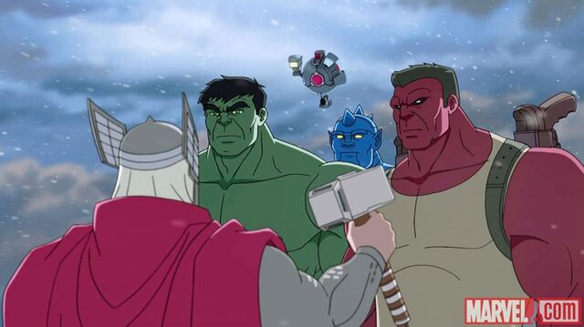 File:The team and Thor.jpg