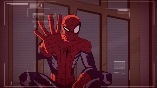 File:Spidey don't want the camera.png