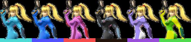 File:Zero Suit Samus Palette (SSBB).png