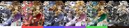 ZeldaSheik Palette (SSBB)