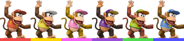 File:Diddy Kong Palette (SSBB).png