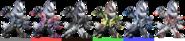 Wolf Palette (SSBB)