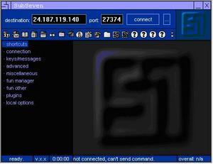 Sub7 Hacker Tool