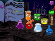 The Colored Potions
