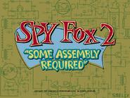 Spy Fox 2 PC-title