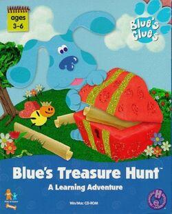 BluesTreasureHuntFrontCover