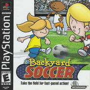 BY Soccer PlayStation