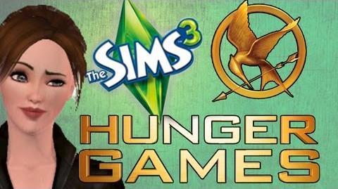 SIMS 3 HUNGER GAMES! The Winner's House! 3