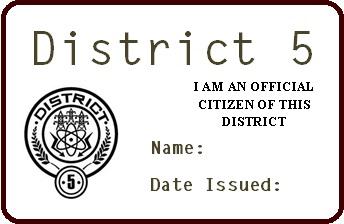 District 5 permit