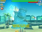Shark of liberty