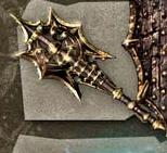 Weapon caddocs darkset axe