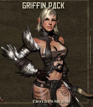 Elara griffin hide armor