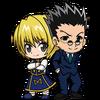Kurapika and Leorio