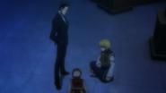 Kurapika and Leorio with defeated Pairo doll