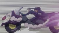 Amane and Canary riding Tsubone.png