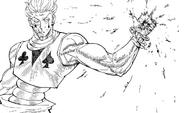Chap 356 - Hisoka severed hand
