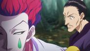 Hisoka With Nobunaga