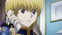 Kurapika talking to Light