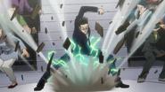 Leorio's punch
