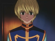 Kurapika's second visit to the agent