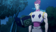 Hisoka Being Contacted By Phinks