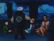 Ep3 1999 - Gon, Kurapika and Leorio pass