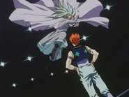Kastro attacking Hisoka