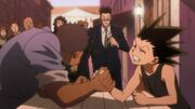 Gon armwrestling