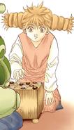 Komugi playing Gungi Volume 30 Colored