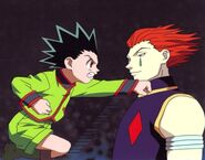 Gon vs Hisoka HQ