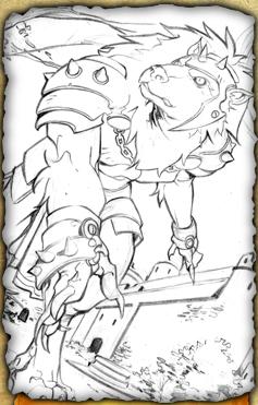 File:Wolf Knight (Pencil Sketch).jpg