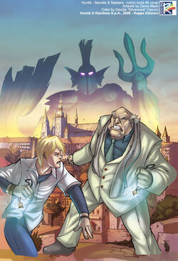 Comic 4 The Treasures of Alexandria Cover