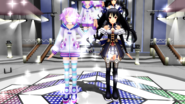 File:Mmd neptune and noire by anjusendo-d4zoww7.png
