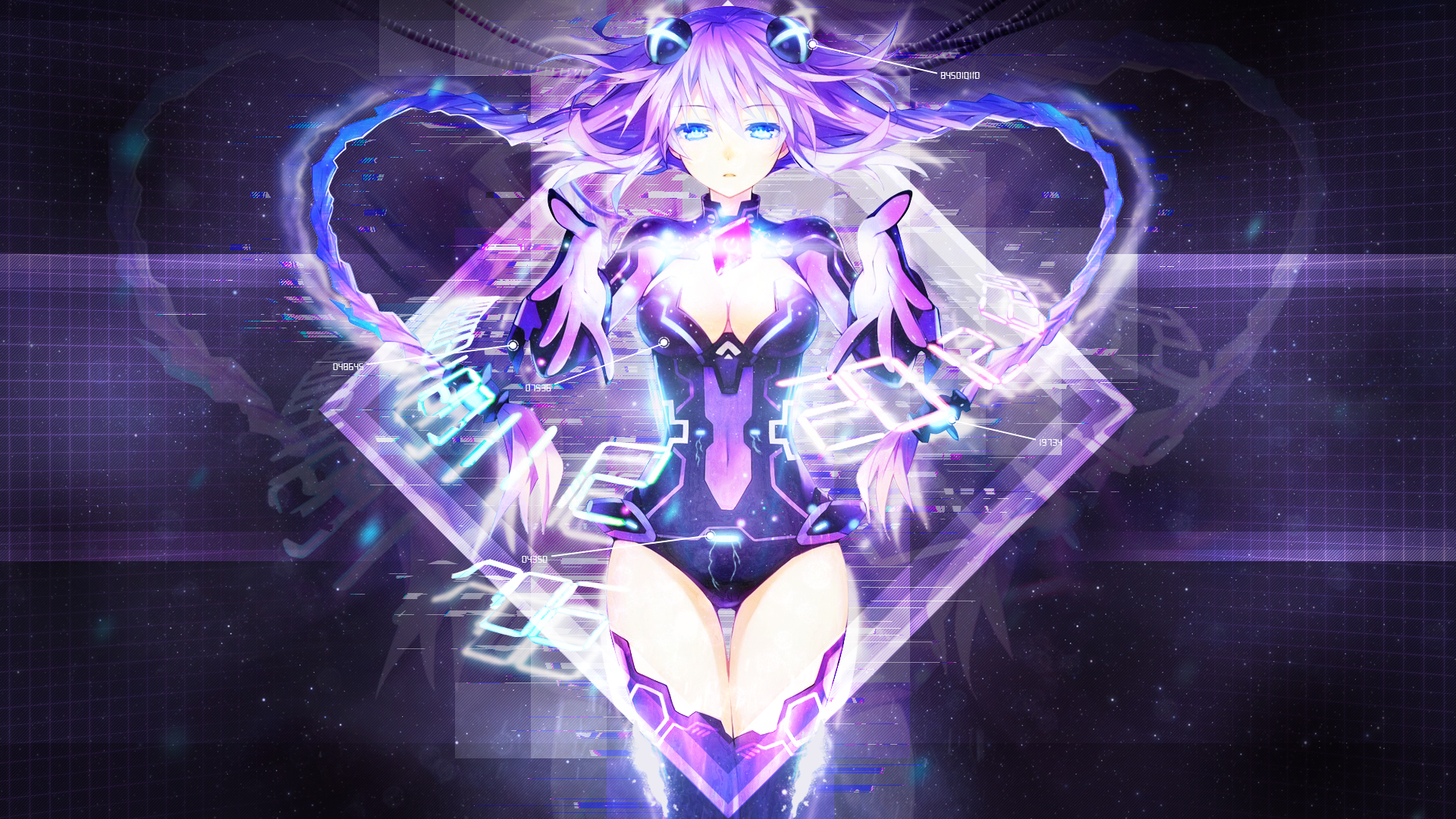hyperdimension neptunia wallpaper engine