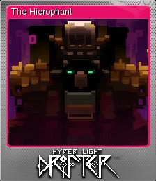 File:Hyper Light Drifter Card The Hierophant Foil.png