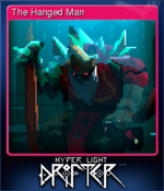 Hyper Light Drifter Card The Hanged Man