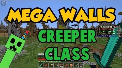 MEGA WALLS! - CREEPER CLASS Gameplay and Review - Hypixel Server - KABOOM
