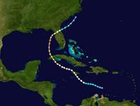 Hurricane Erika Track 2021 (CS)