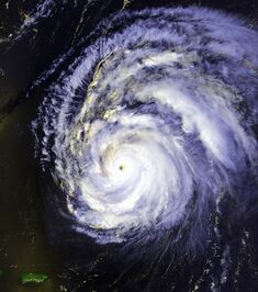Hurricane Felix 12 aug 1995 1747Z