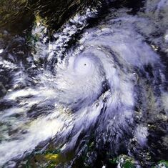 Typhoon Babs 20 oct 1998 0455Z
